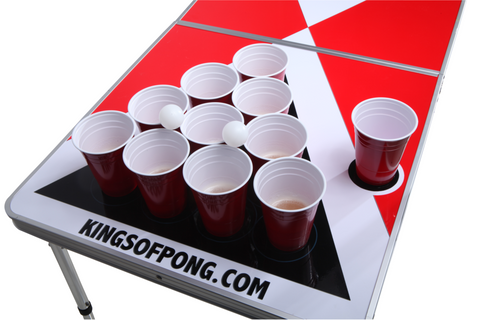 Beer pong bord. Kings of Pong.