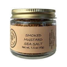 Load image into Gallery viewer, Smoked Mustard Sea Salt