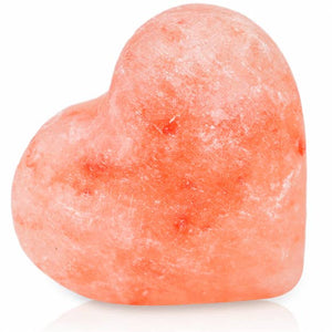 Heart Stone (Small) 2.5x2.5x1.5 inch Set of 2 w/ Cotton Bag