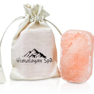 Salt Soap Body Bar - 1 Unit w/ Cotton Bag