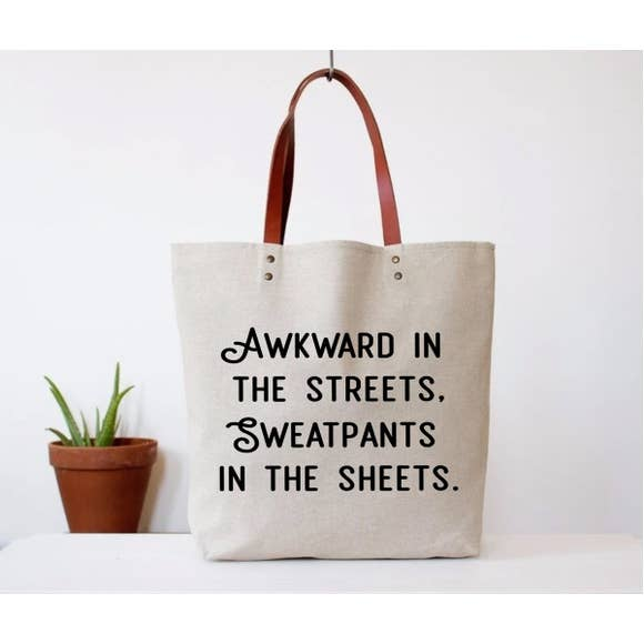 Awkward in the Streets Tote Bag