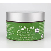 Load image into Gallery viewer, 5 oz Rosemary and Mint Salt Scrub