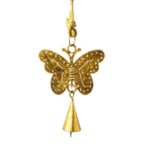 Mini Cutout Butterfly Chime