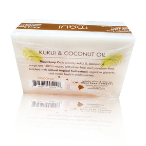 Coconut – Kukui & Coconut Oil Vegan Soap