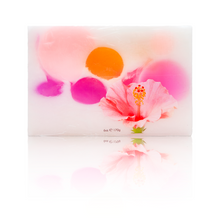 Load image into Gallery viewer, Hibiscus Berry – Kukui & Coconut Oil Vegan Soap