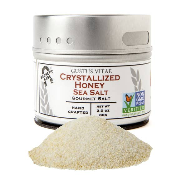 Crystallized Honey Sea Salt