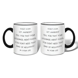 Leggings Mug
