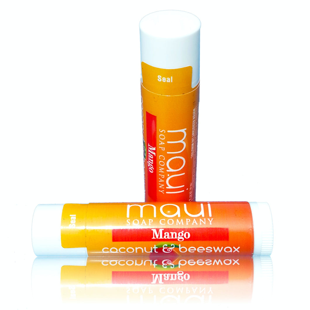 Mango – Beeswax & Coconut Oil Hawaiian Lip Balm W/ SPF 15