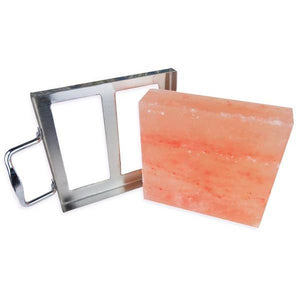 "8"" x 8"" x 2"" Salt Plate with Holder"