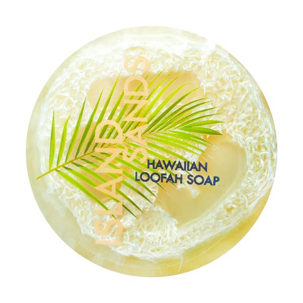 Sea Salt & Kukui Exfoliating Loofah Soap - Island Sands