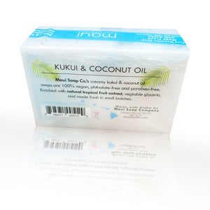 Hawaiian Waters – Kukui & Coconut Oil Vegan Soap