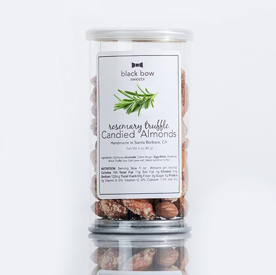 Rosemary Truffle Candied Almonds- Pop Top Can