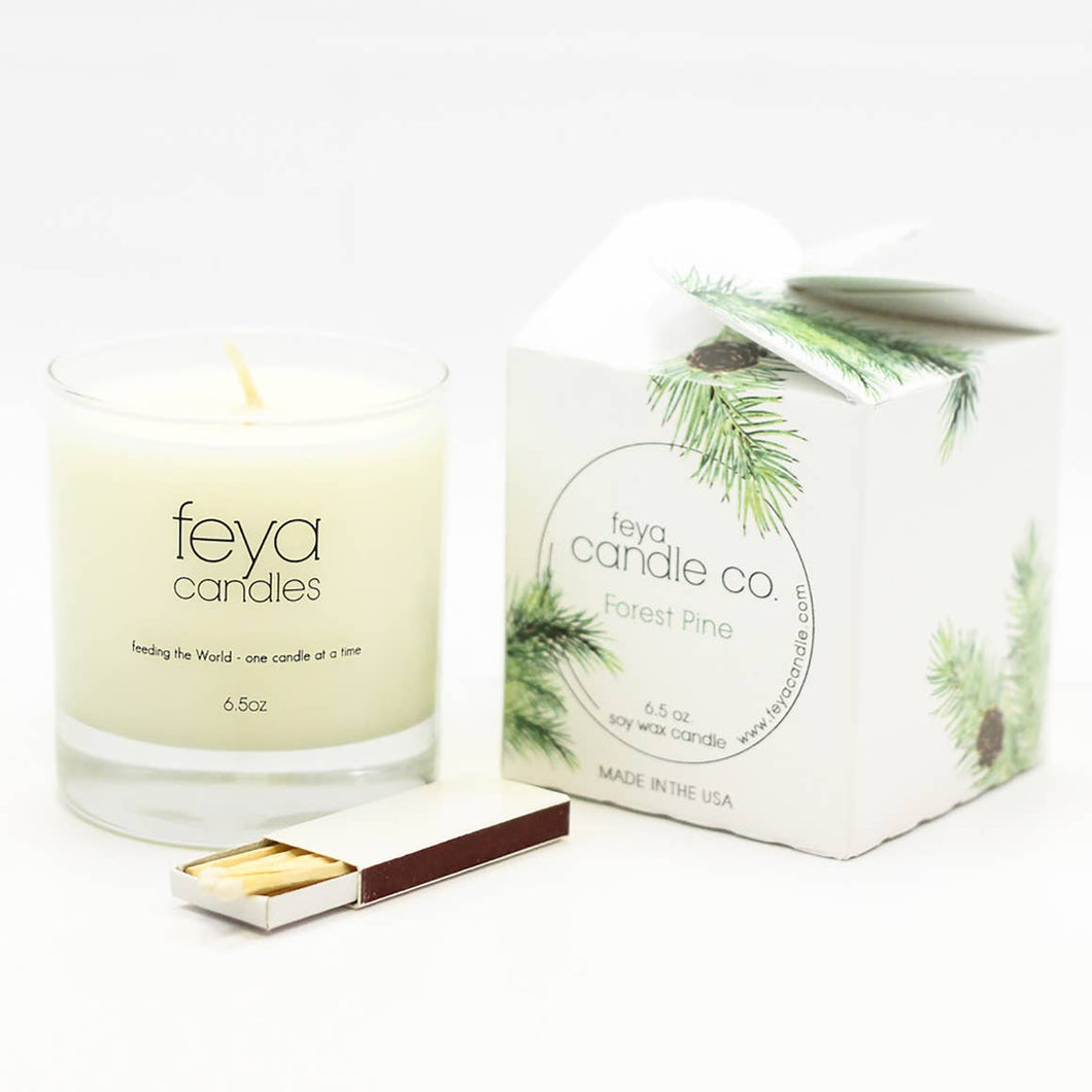 Forest Pine Candle- Feya Candle Co.