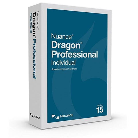 Nuance Dragon Professional Individual v15.4 medical speech recognition bundle available now at speech products UK nuance approved 2019