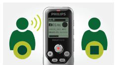 Philips DVT1250 Digital VoiceTracer with Voice Activated Recording from Speech Products