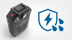 Philips VideoTracer Body Worn Camera DVT3120 - Robust waterproof casing - Speech Products