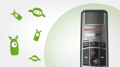 Philips SMP4010 SpeechMike Premium Air - antimicrobial surfacing for medical use and hygiene - speech products