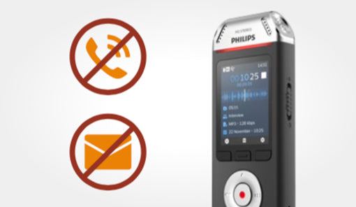 Philips DVT2110 uninterrupted recording