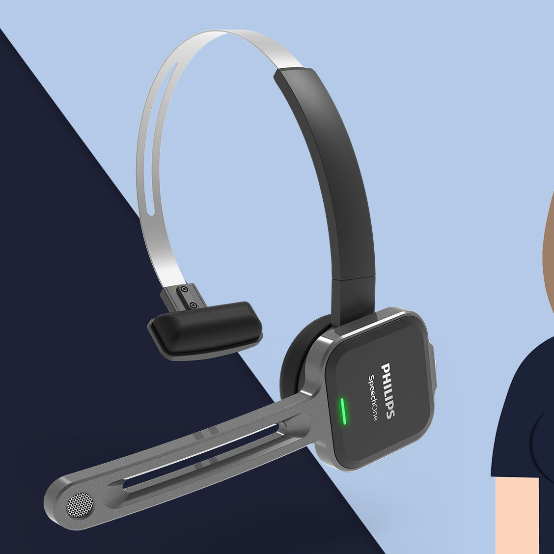 Philips SpeecOne Wireless Headset at Speech Products UK