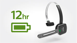 Philips SpeechOne Headset PSM6300 for Nuance Dragon Speech Recognition - all day battery life - Speech Products
