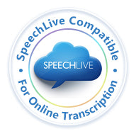 Philips ACC2320 transcription foot control for use with Philips SpeechLive