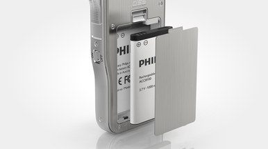 Philips DPM7200 PocketMemo from Speech Products UK - Versatile mobile digital dictation device with File/Edit functionality
