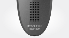 Philips SMP3710/00 SpeechMike Premium Touch - Large speaker area for playback