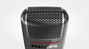 Philips SMP3800/00 SpeechMike Premium Touch - microphone grille with optimised structure