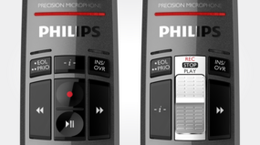 Philips SMP3710/00 SpeechMike Premium Touch - available with wear free slide switch or push button controls for intuitive operation