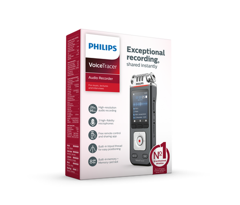 Click to see the all new Philips DVT6110 VoiceTracer
