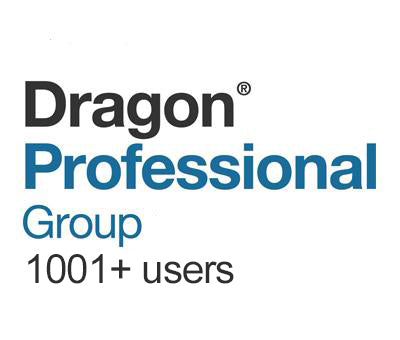 Dragon Professional Group 15 Volume License 1000+ Users - Speech Products