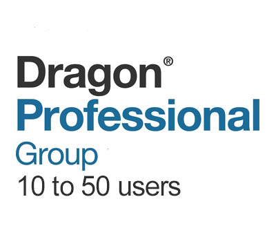 Dragon Professional Group 15 Volume License 10 to 50 Users - Speech Products