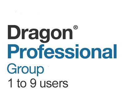 Dragon Professional Group 15 Volume License 1 - 9 Users - Speech Products