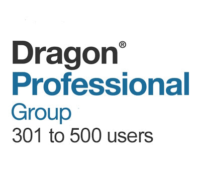 Dragon Professional Group 15 Volume License 301 to 500 Users - Speech Products