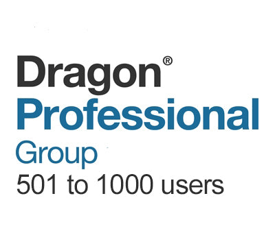 Dragon Professional Group 15 Volume License 501 to 1000 Users - Speech Products