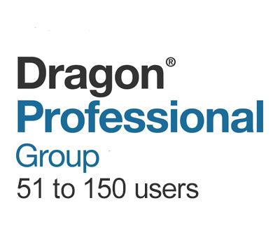 Dragon Professional Group 15 Volume License 51 to 150 Users - Speech Products