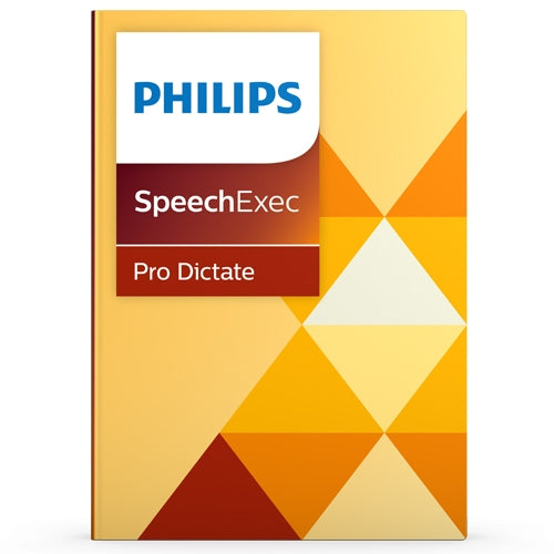 Philips LFH4400/02 SpeechExec Pro Dictate V10 Software - Instant Download - Speech Products