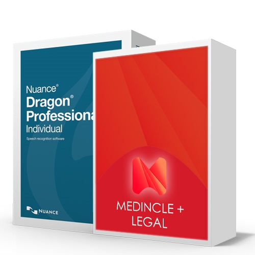 Dragon Professional Individual V15 Legal Speech Recognition Package - Speech Products