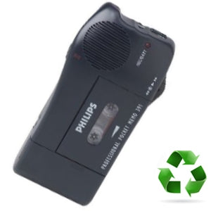 Philips LFH381 Portable Voice Recorder (Refurbished) - Speech Products
