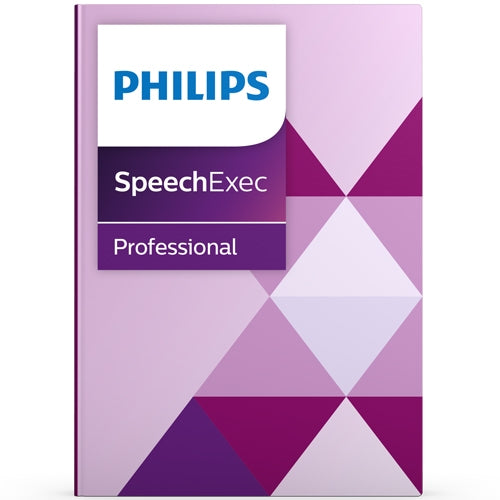 Philips PSE4500 SpeechExec Pro Transcription Software with Speech Recognition - Speech Products