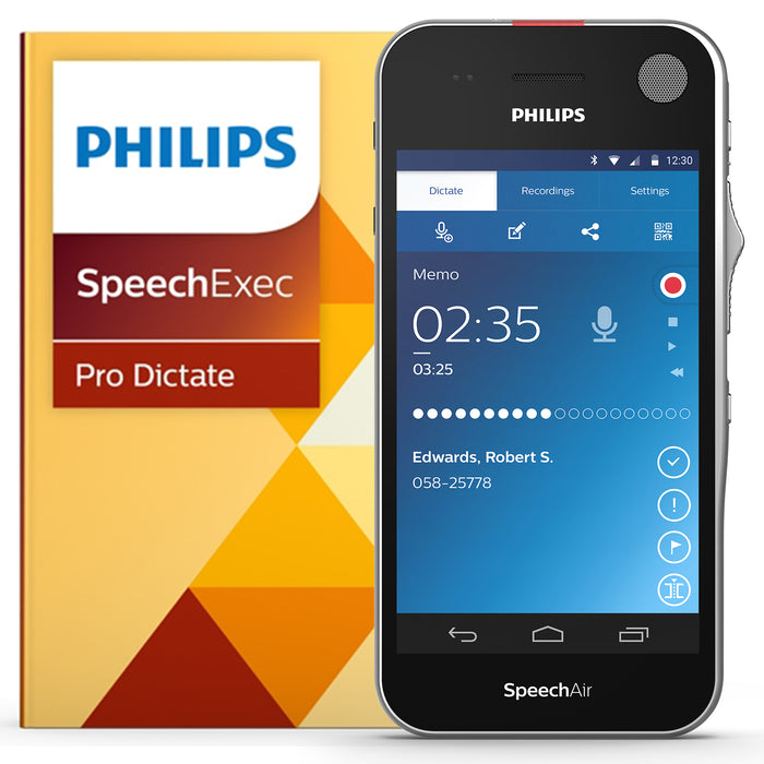 Philips SpeechAir Starter Kit (Incl. PSP1200 and LFH7277) - Speech Products