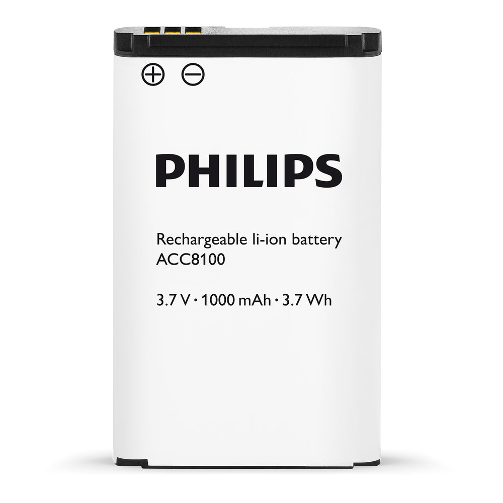 Philips ACC8100 Rechargeable Battery - Speech Products