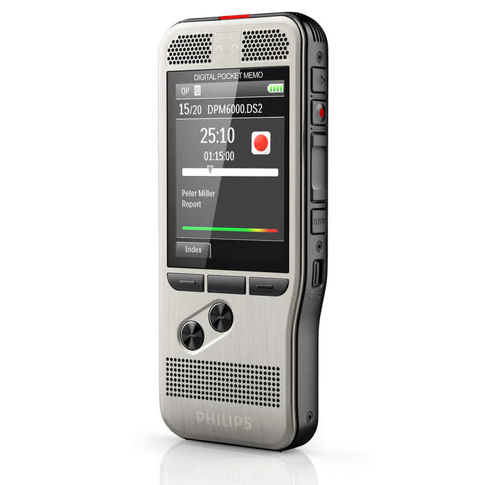 Philips DPM6000 Digital PocketMemo with SpeechExec Standard - Speech Products