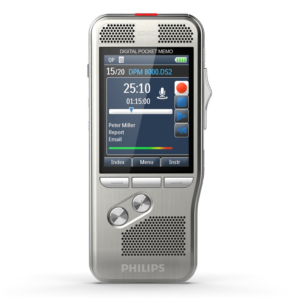 Philips DPM8100 Digital PocketMemo - Speech Products