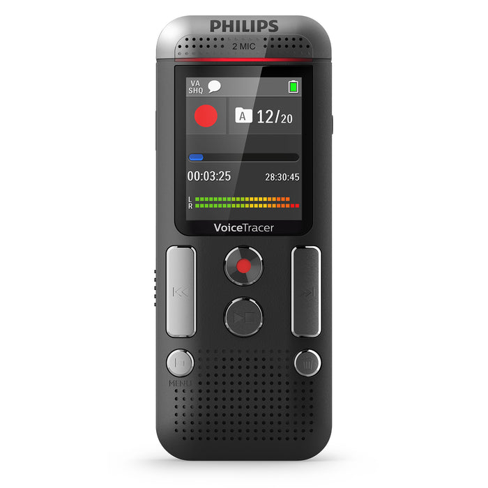 Philips DVT2710 Digital Voice Tracer - Speech Products