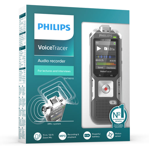 Philips DVT6010 Digital VoiceTracer - Speech Products