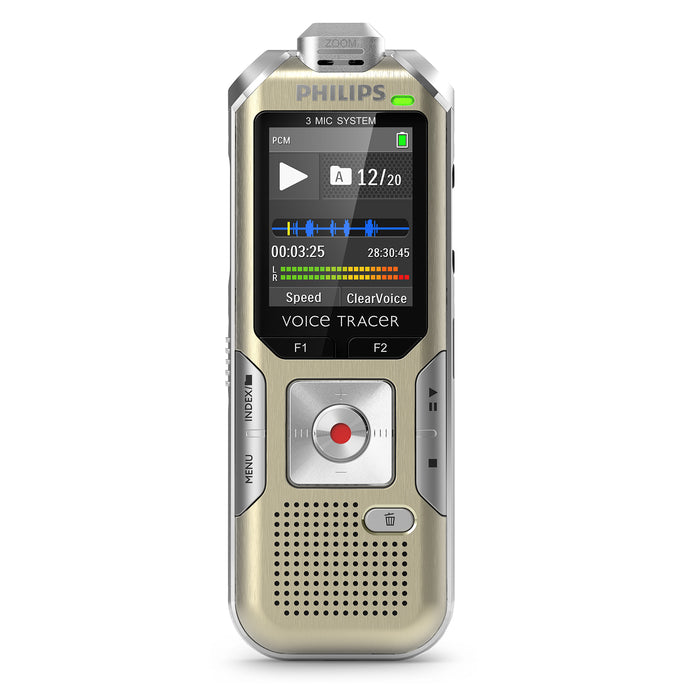 Philips DVT6500 Digital VoiceTracer - Speech Products