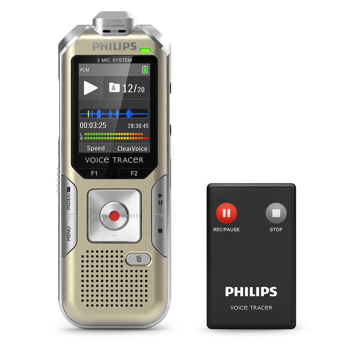 Philips DVT8010 Digital Voice Tracer - Speech Products