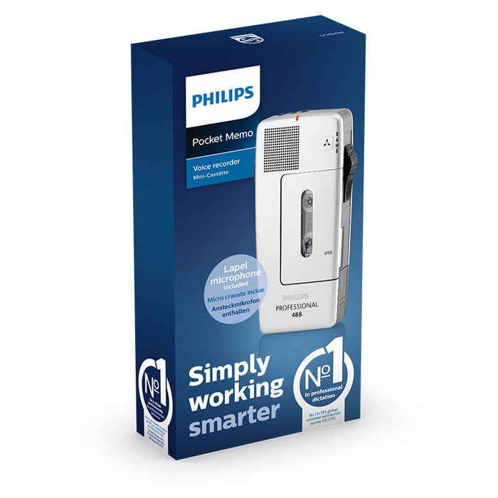 Philips LFH488 Pocket Memo - Speech Products
