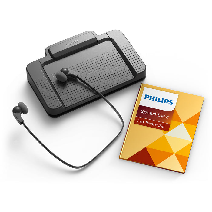 Philips LFH7277/07 SpeechExec Digital Transcription Kit - Speech Products